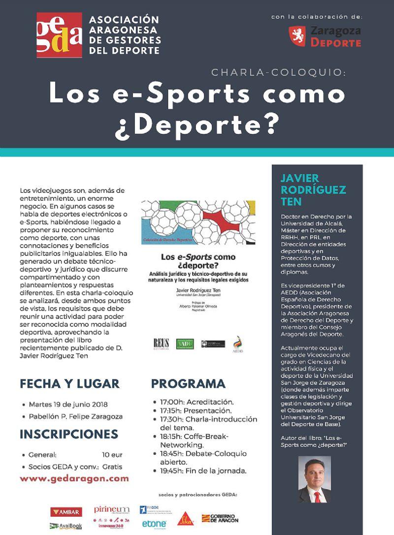 Jornada GEDA: Los e-Sports como ¿Deporte?