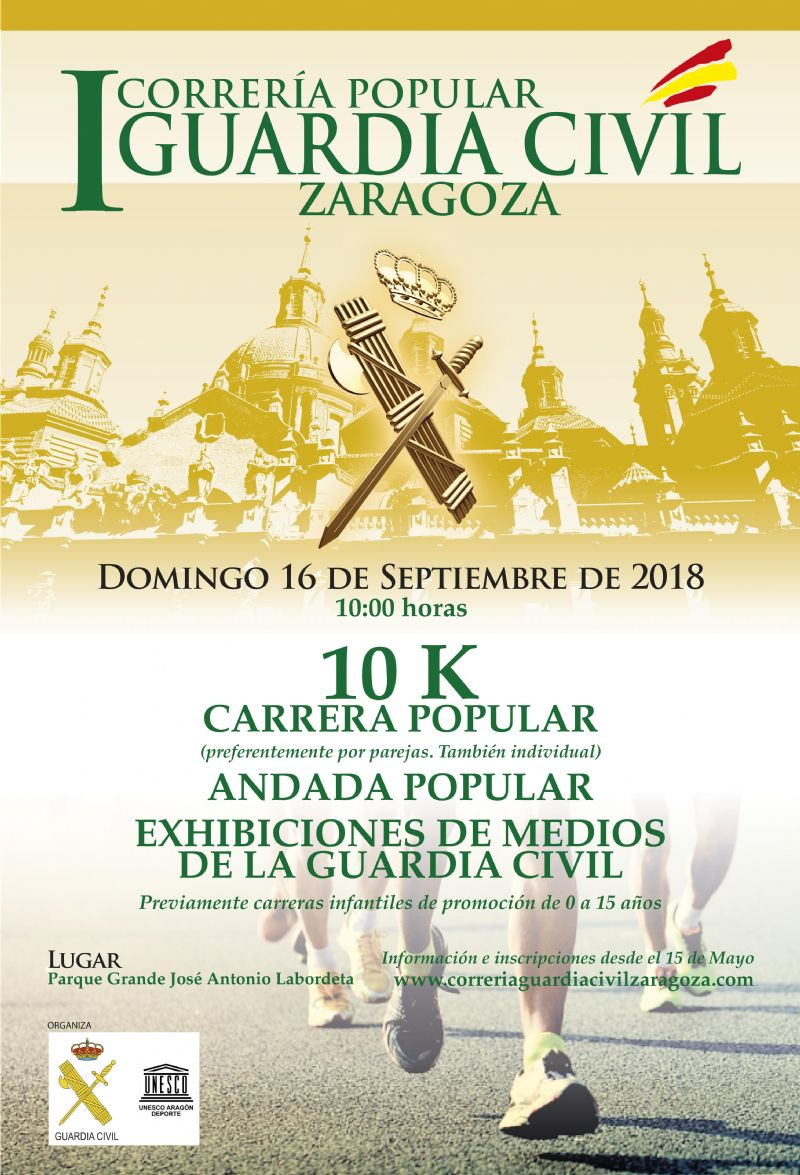 I Correría Popular Guardia Civil Zaragoza