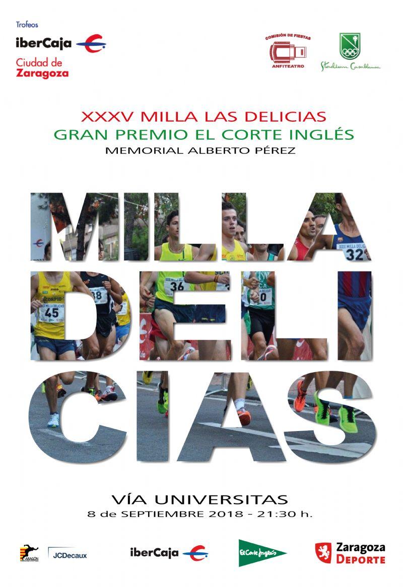 XXXV Milla Urbana de Delicias Trofeo «Ibercaja-Ciudad de Zaragoza»