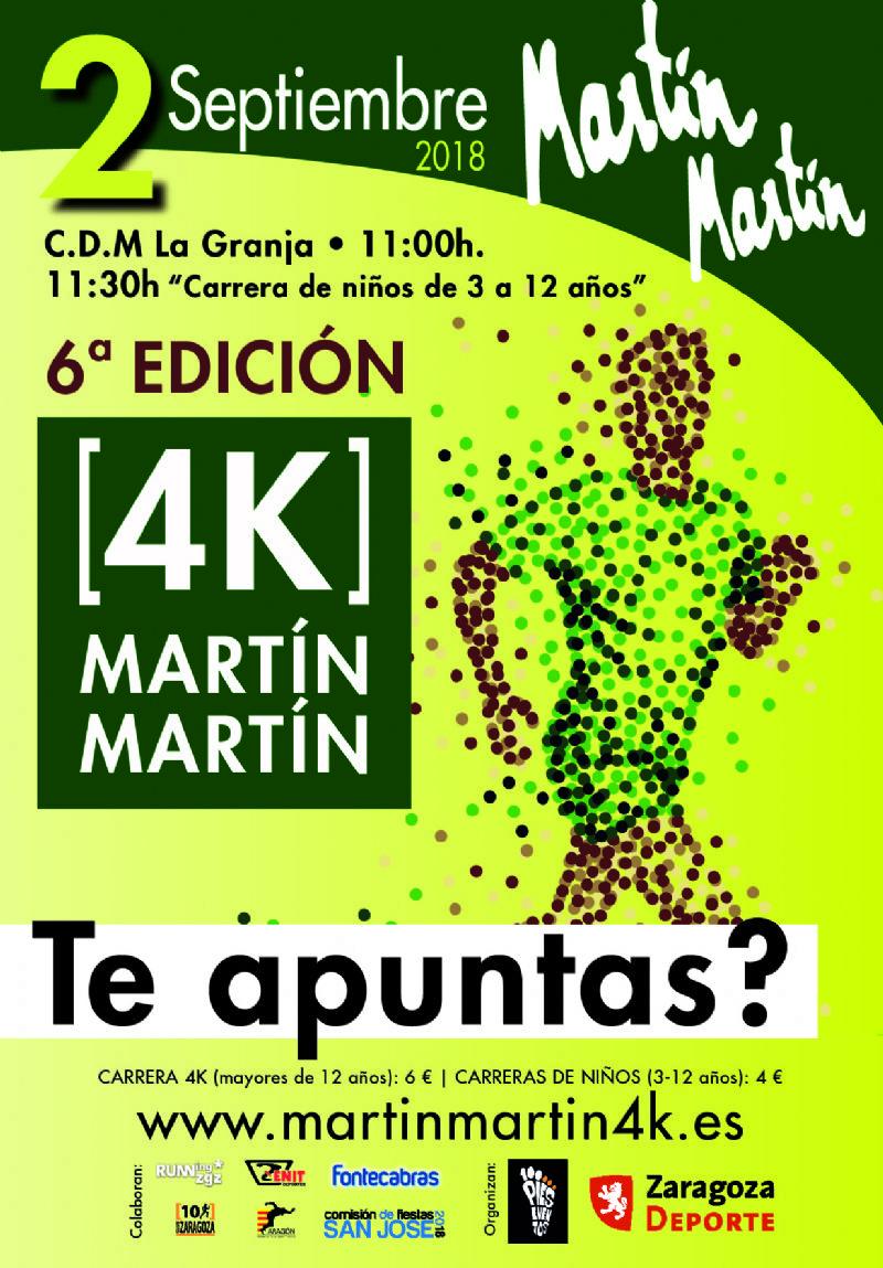 VI Carrera Popular Martín Martín 4K «Fiestas de San José»