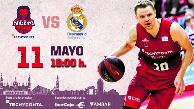 Calendario Tecnyconta.Tecnyconta Zaragoza Real Madrid Eventos Zaragoza Deporte