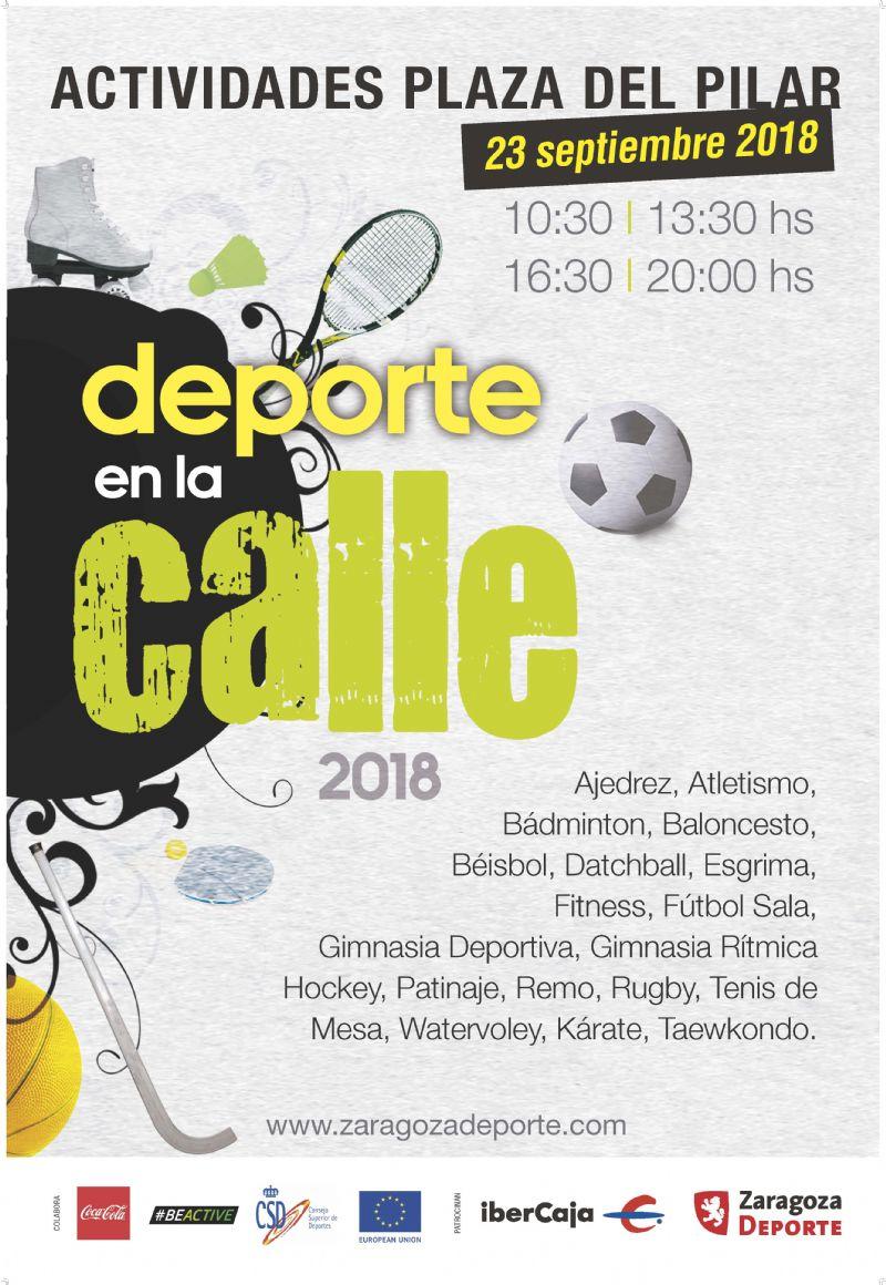 Día del Deporte en la Calle 2018
