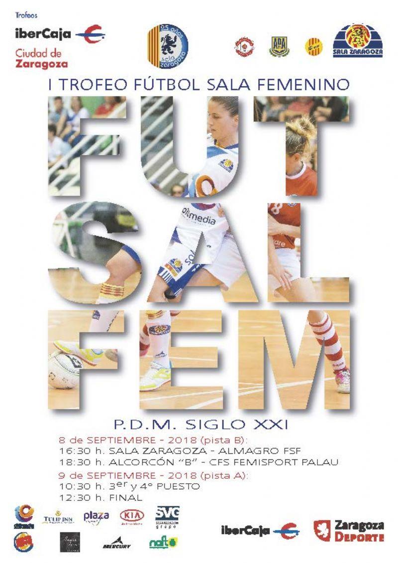 I Trofeo «Ibercaja-Ciudad de Zaragoza» de Fútbol Sala Femenino