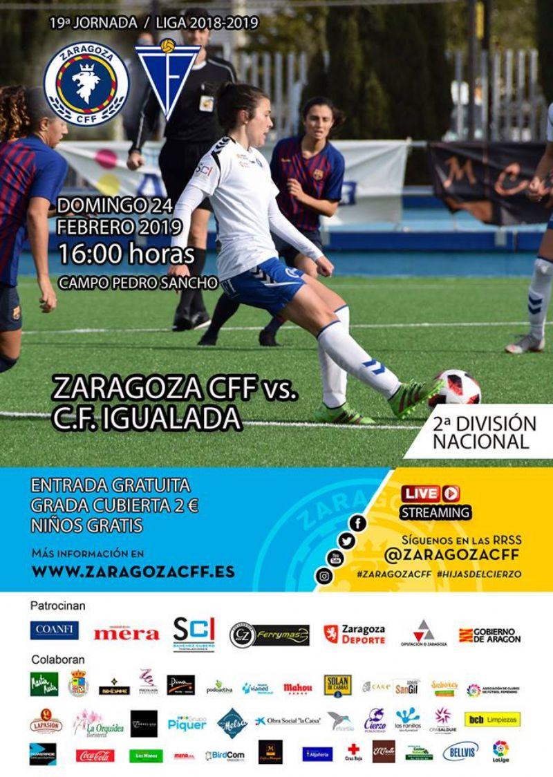 Zaragoza Club De Fútbol Femenino - C.F. Igualada A