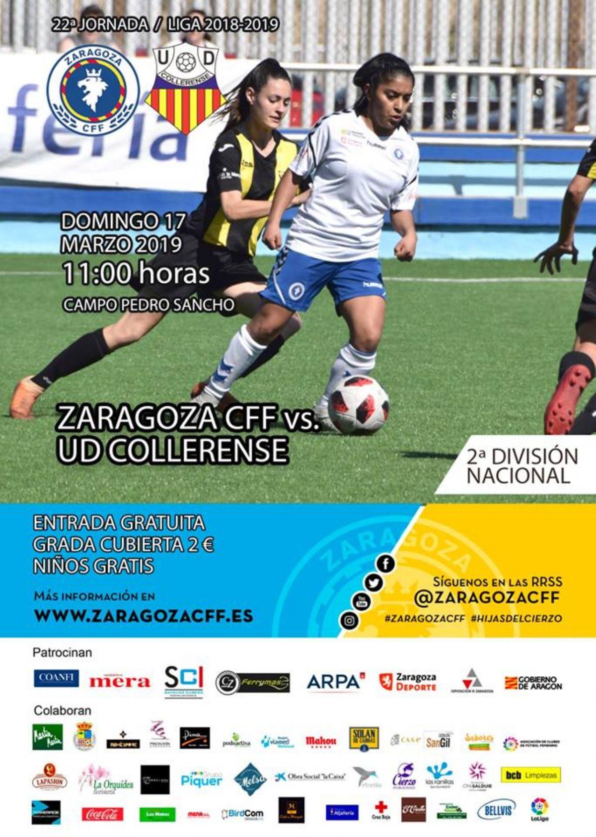 Zaragoza Club De Fútbol Femenino - U.D. Collerense