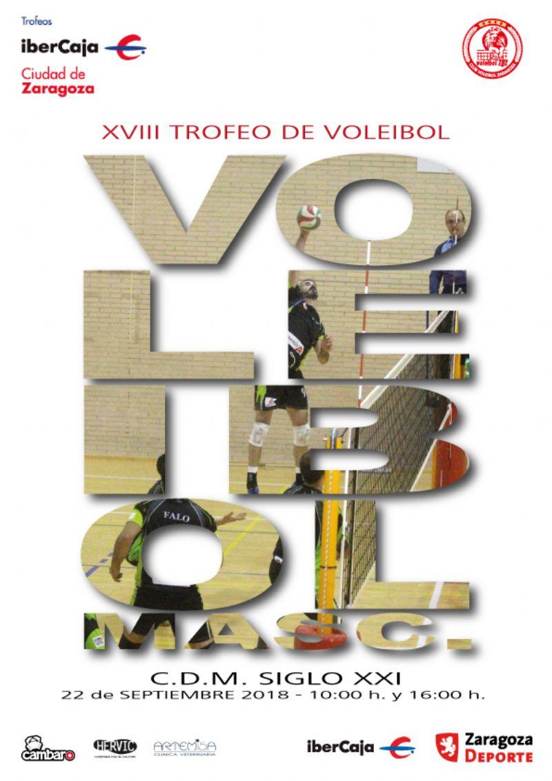 XVIII Trofeo «Ibercaja-Ciudad de Zaragoza» de Voleibol Masculino