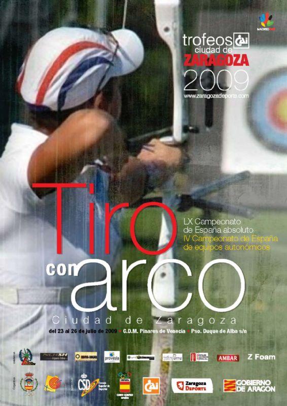 LX CAMPEONATO de ESPAÑA Absoluto de TIRO con ARCO - Trofeo «CAI-Ciudad de Zaragoza»
