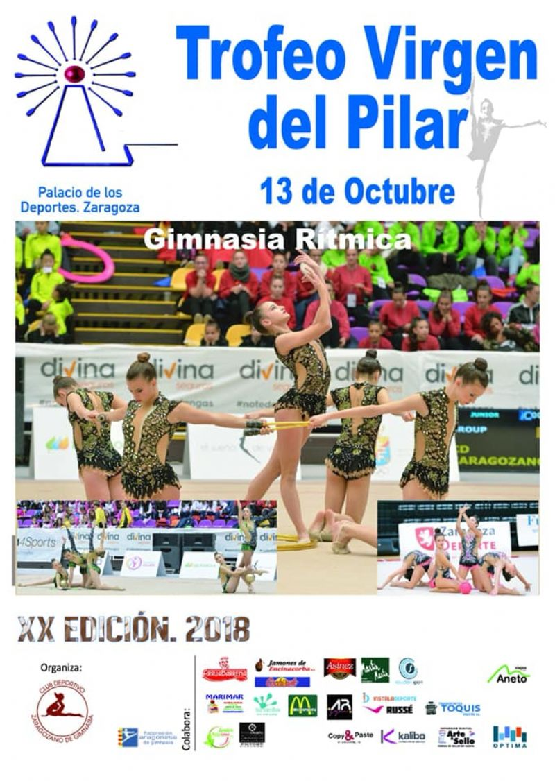 XX Trofeo «Virgen del Pilar» de Gimnasia Rítmica de Conjuntos