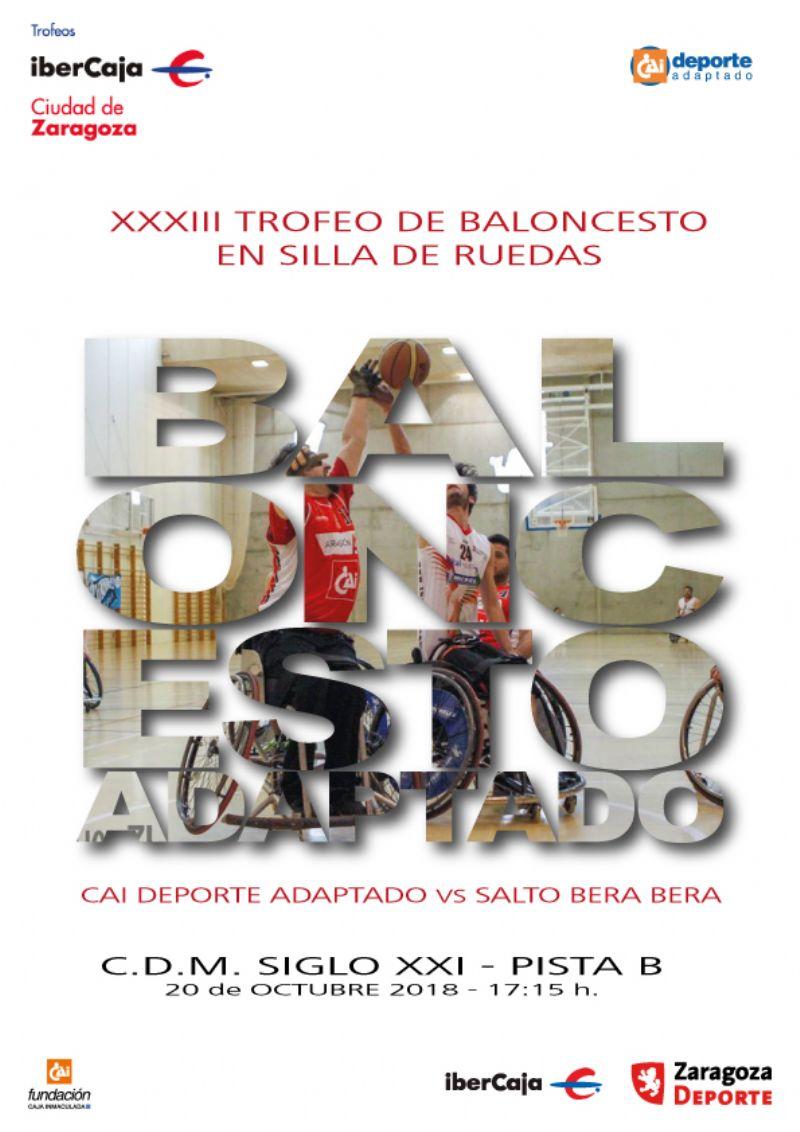 XXXIII Trofeo «Ibercaja-Ciudad de Zaragoza» de Baloncesto en Silla de Ruedas
