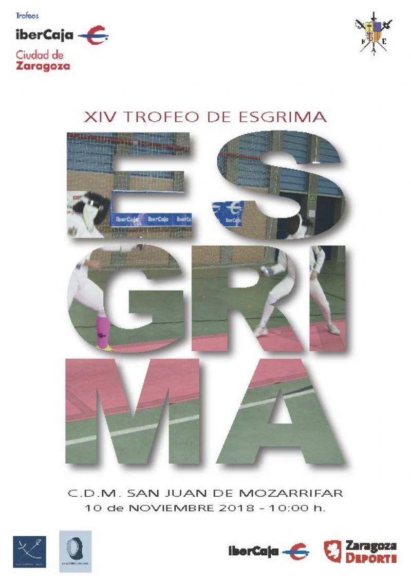 XIV Trofeo «Ibercaja-Ciudad de Zaragoza» de Esgrima