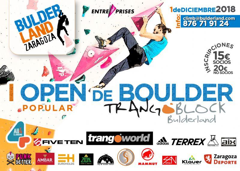 I Open Bulderland Zaragoza