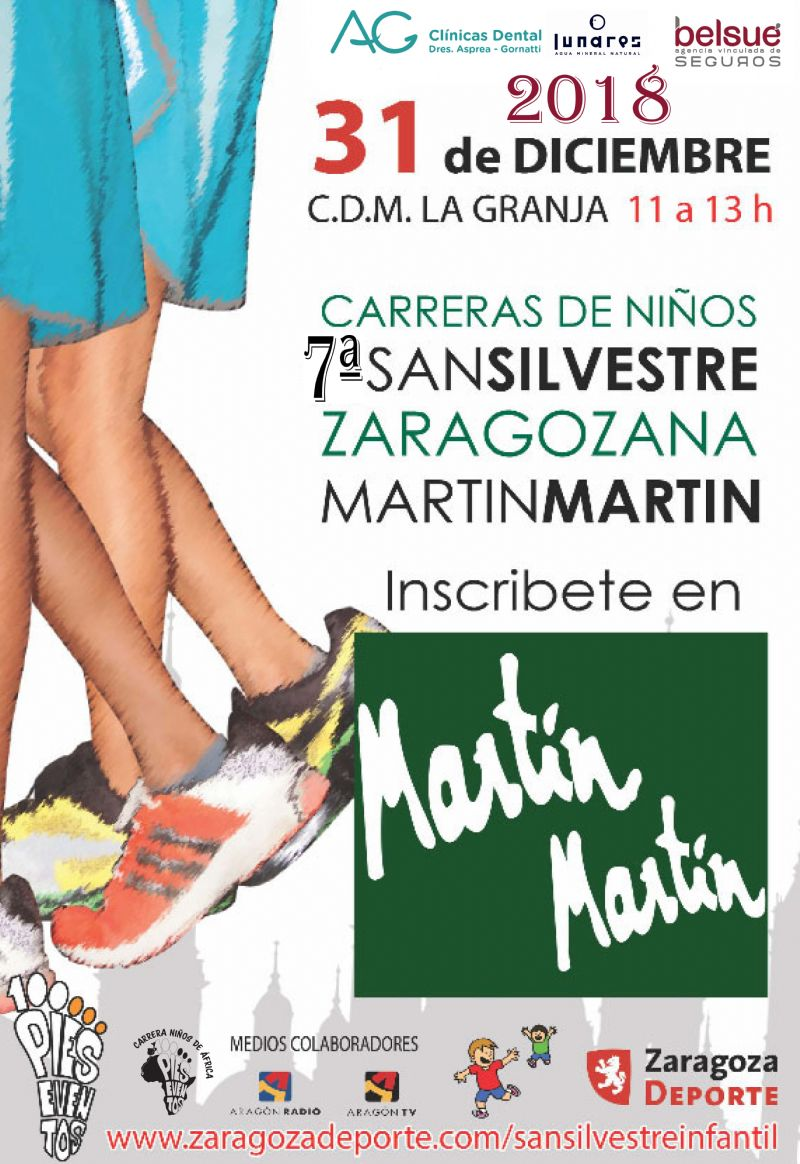 VII San Silvestre Zaragozana Martín Martín para Niños