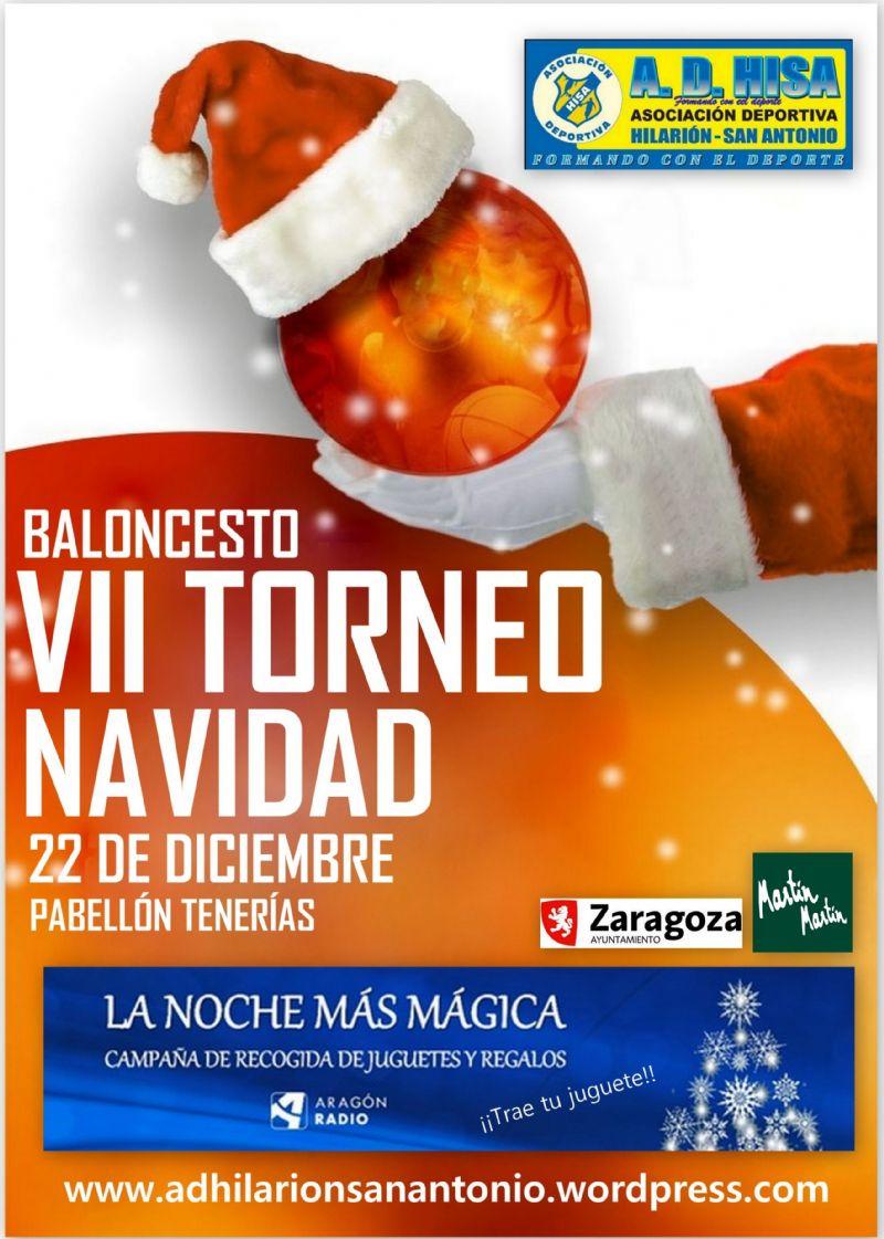 VII Torneo de Baloncesto Solidario de Navidad AD Hisa