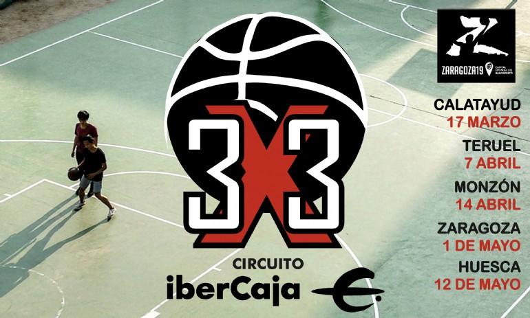 Circuito 3×3 Ibercaja. Sede Zaragoza