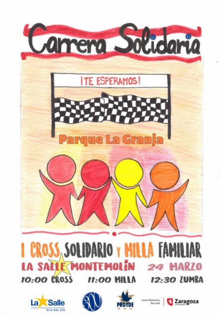 I Cross Solidario y Milla Familiar La Salle Montemolín
