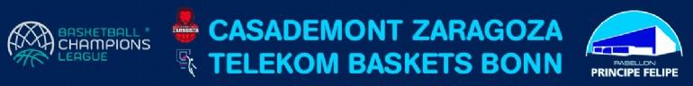 Casademont Zaragoza - Telekom Baskets Bonn