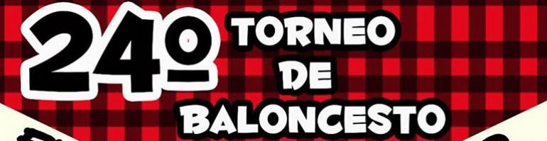 XXIV Torneo de Baloncesto «Fiestas del Pilar»