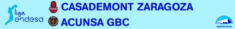 [ACB] CASADEMONT ZARAGOZA-ACUNSA GBC