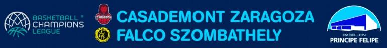 [UCL] Casademont Zaragoza - Falco Szombathely