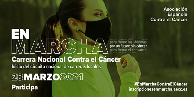 «En Marcha» Carrera Nacional Contra el Cáncer