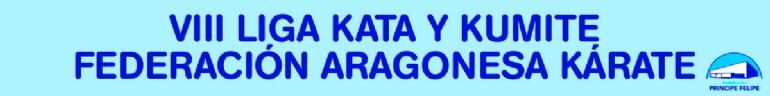 VIII Liga Kata y Kumite de la Federación Aragonesa de Kárate