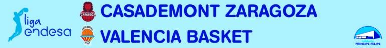 [ACB] CASADEMONT ZARAGOZA-VALENCIA BASKET