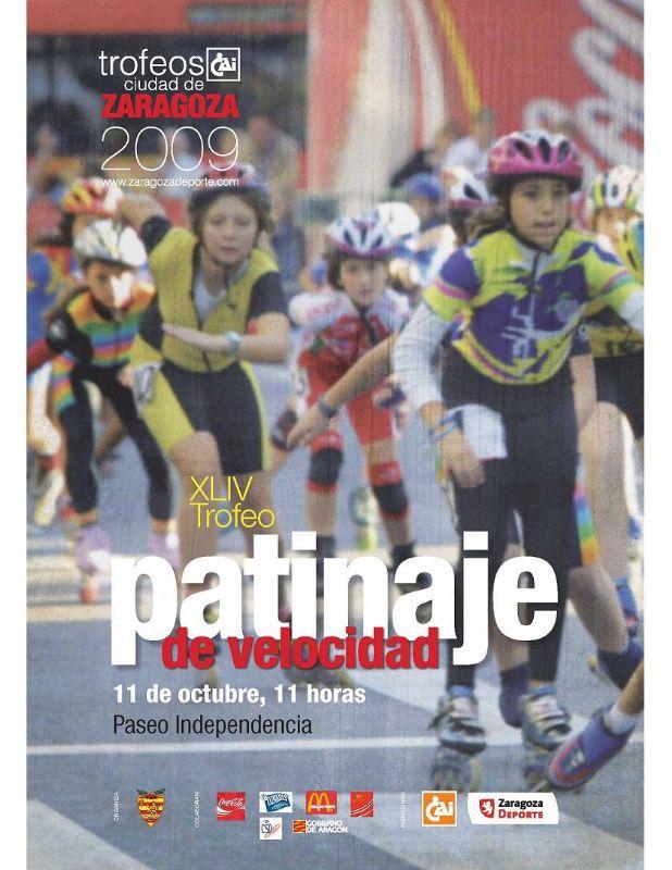 XLIV Trofeo «CAI Ciudad de Zaragoza» de Patinaje de Velocidad