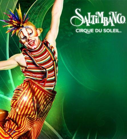 Cirque du Soleil 'SALTIMBANCO'