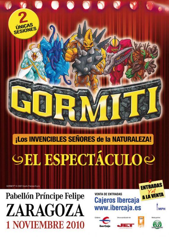 GORMITI, EL ESPECTÁCULO