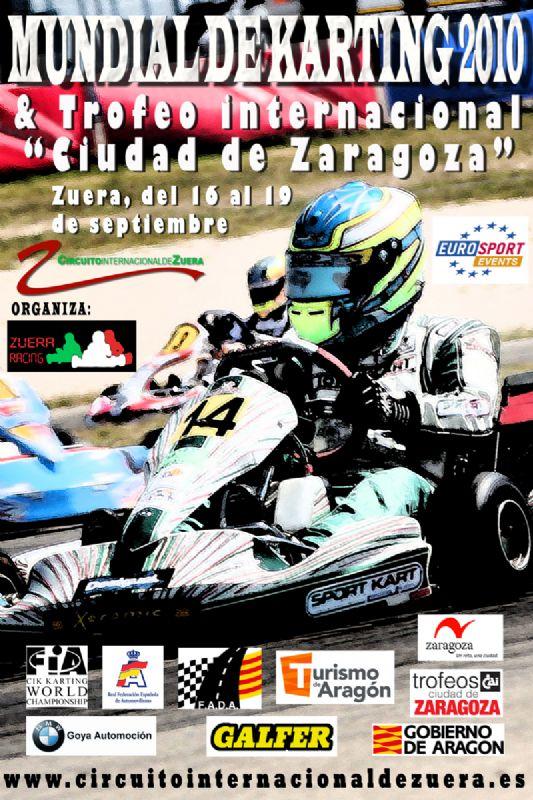 Campeonato del Mundo de Karting - Trofeo Internacional 'CAI - Ciudad de Zaragoza' de Karting