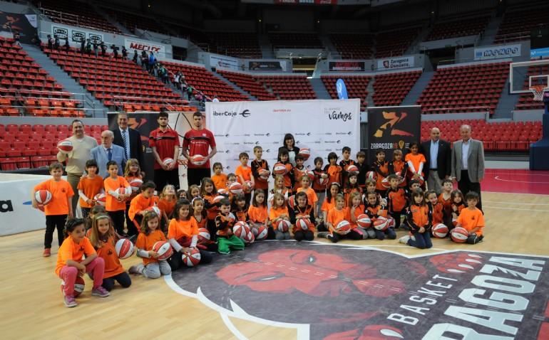 Presentación de la Liga de Escuelas Ibercaja de Baloncesto
