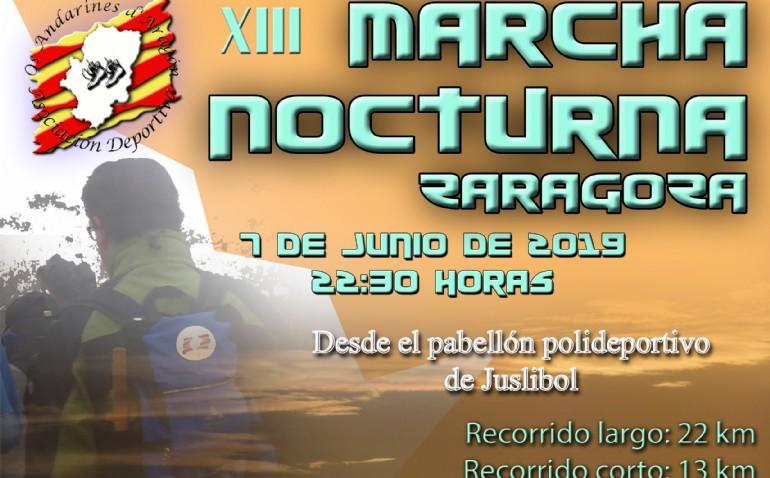 XIII Marcha Nocturna de Zaragoza