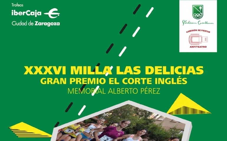 XXXVI Milla Urbana de Delicias Trofeo «Ibercaja-Ciudad de Zaragoza»