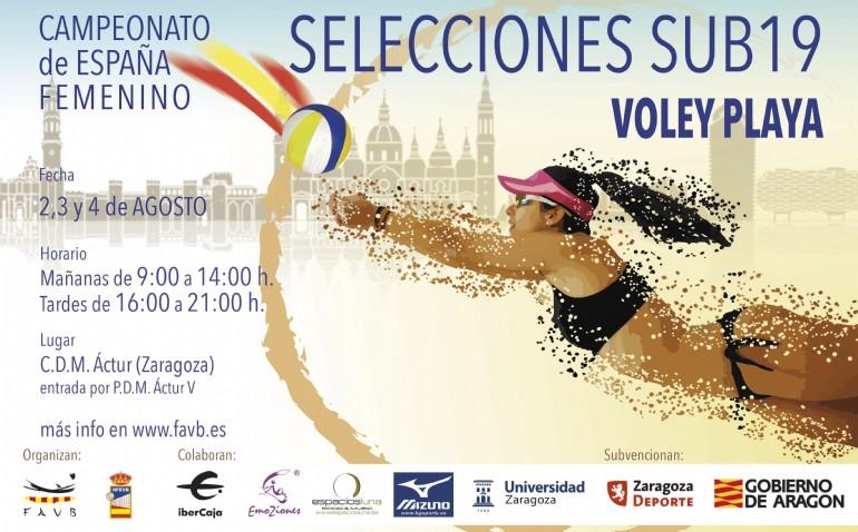 Campeonato de España de Voley Playa Femenino Sub-19