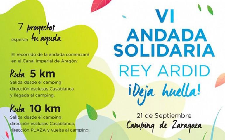 VI Andada Solidaria Rey Ardid «Deja Huella»