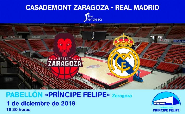 CASADEMONT ZARAGOZA - REAL MADRID