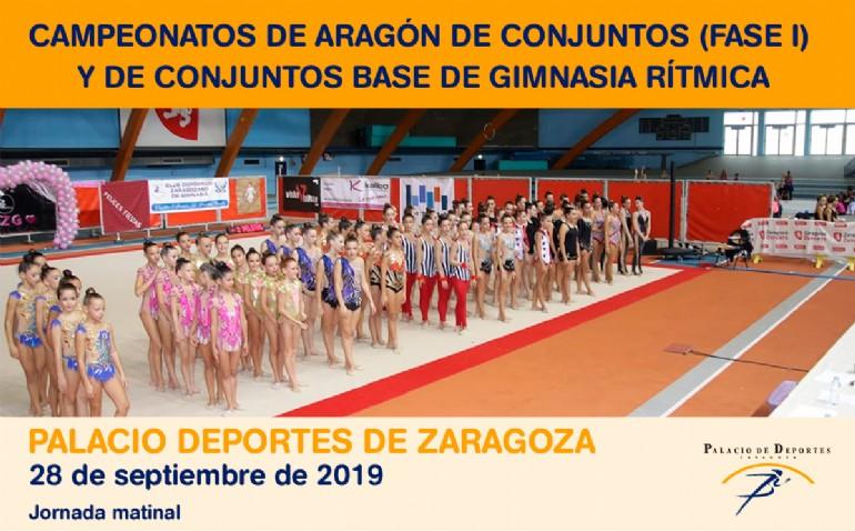 Campeonatos de Aragón de Conjuntos (Fase I) y de Conjuntos Base de Gimnasia Rítmica