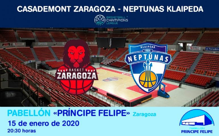 Casademont Zaragoza - NEPTUNAS KLAIPEDA