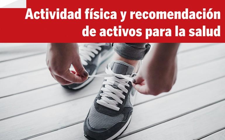 Jornada gratuita: Actividad física y recomendación de activos para la salud