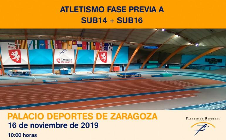 Atletismo. Fase Previa A SUB14 + SUB16