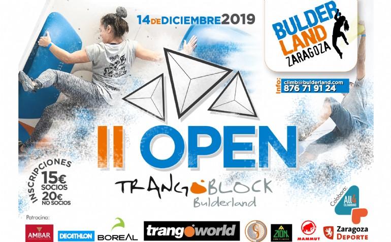 II Open Bulderland Zaragoza