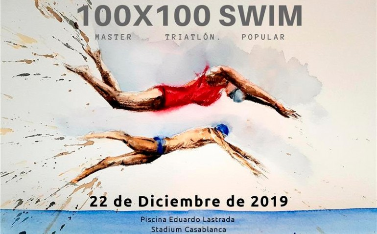 100 x 100 Swim Triatlón Stadium Casablanca