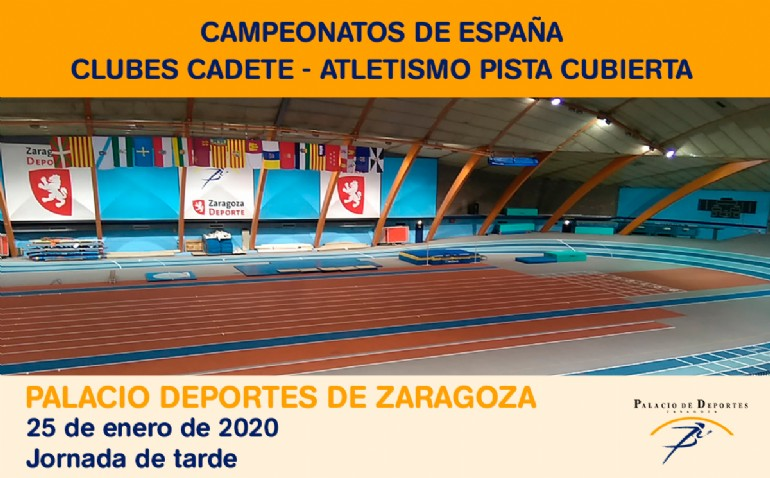 Campeonato de España Clubes Cadete de Atletismo en Pista Cubierta