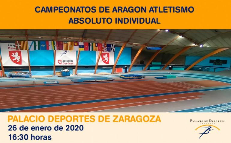 Campeonato de Aragón Absoluto Individual de Atletismo en Pista Cubierta