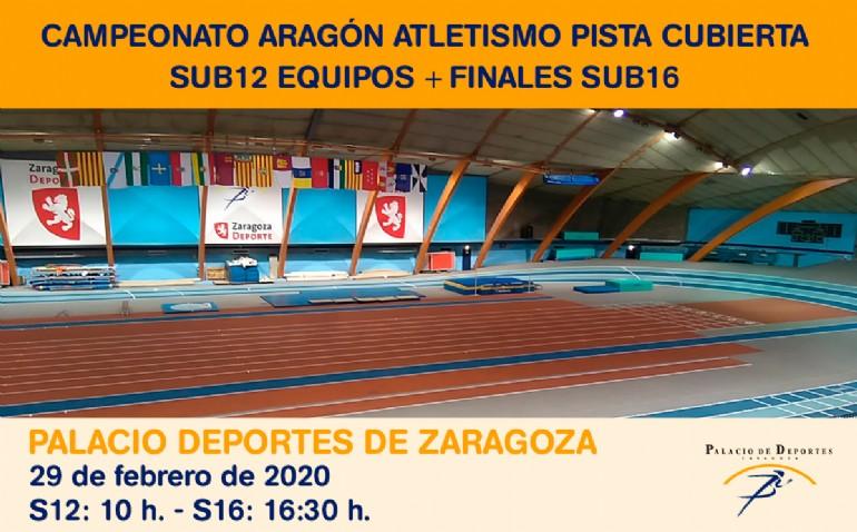 Campeonato de Aragón de Atletismo en Pista Cubierta - Finales Sub16