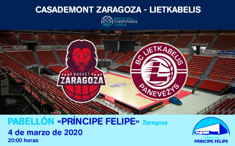 Casademont Zaragoza - Lietkabelis