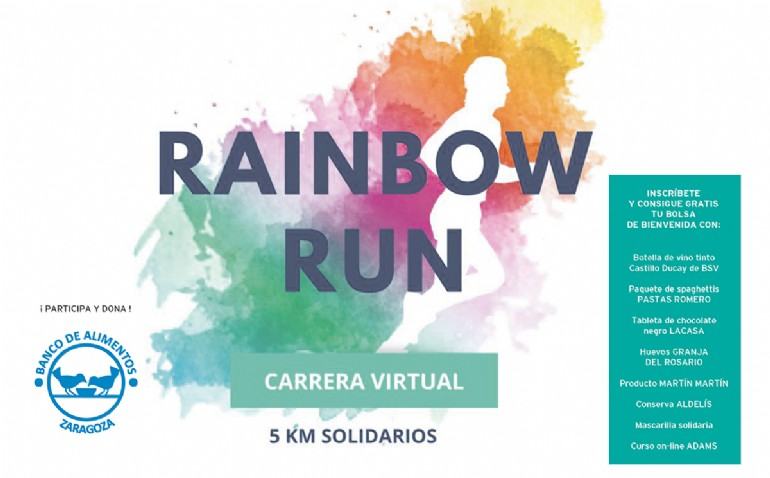 Carrera Virtual Benéfica «Rainbow Run»