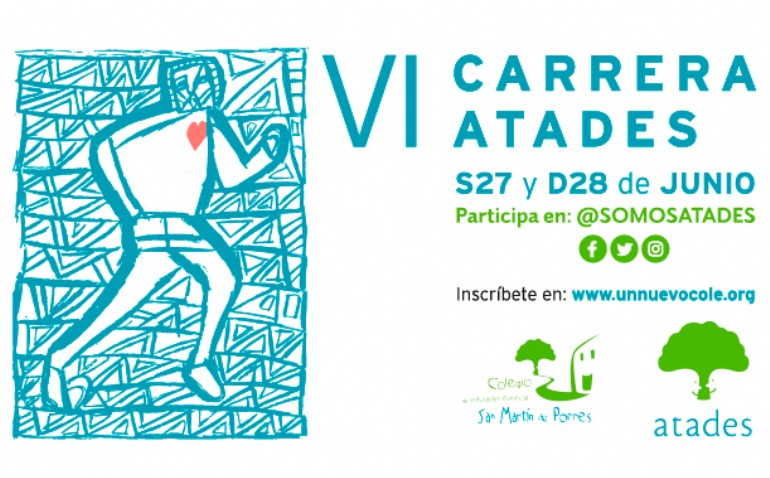 Carrera Virtual ATADES «Por un nuevo cole»