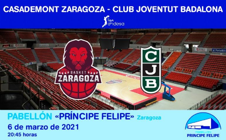 [ACB] CASADEMONT ZARAGOZA-CLUB JOVENTUT BADALONA