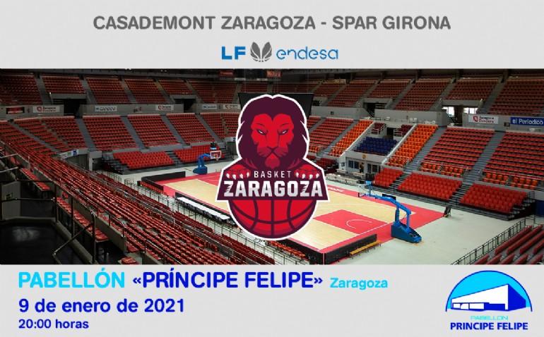 [L. F.] Casademont Zaragoza - Spar Girona